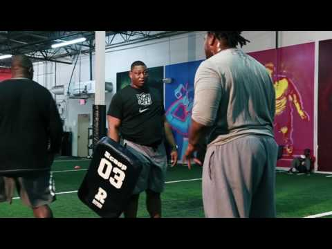Willie Anderson Lineman Academy Promotion