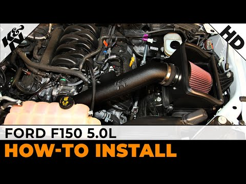 , , & 2014 Ford F150 5.0L Non-Metallic Air Intake Installation