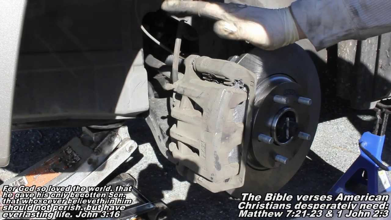 Front Brake Pads Amp Rotors Remove Amp Replace Quot How To Quot Nissan