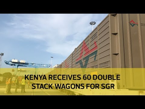 Kenya receives 60 double stack wagons for SGR