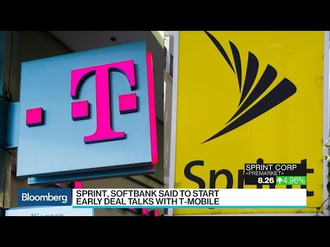 Sprint, T-Mobile Said to Begin Informal Merger Talks