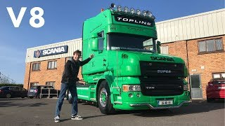 2006 SCANIA T500 V8 Full Tour & Test Drive (Let's Hear That V8 Roar)