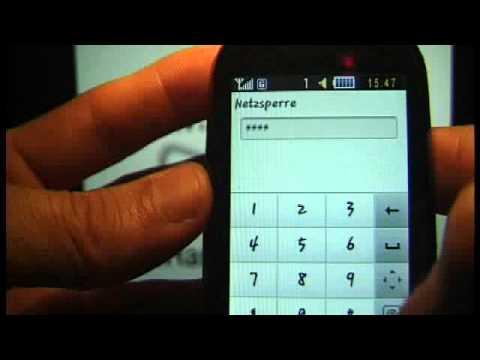 HOW UNLOCK SAMSUNG CORBY GT-S3650 Netzsperre www.SIM-UNLOCK.me HANDY ENTSPERREN