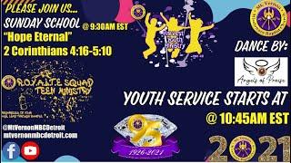 MtVernonMBCDetroit - Youth Sunday Service - 8/29/2021