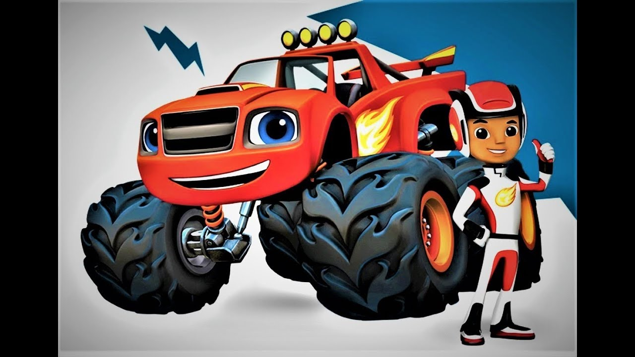 blaze game blaze cartoons blaze and the monster machines