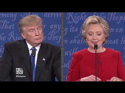Trump and Clinton on U.S. nuclear policy, Iran deal