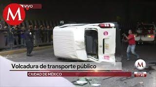 Accidente de transporte público en Naucalpan