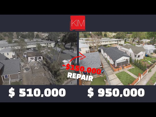 Complete Single family home flip in Los Angeles  $290,000 Profit