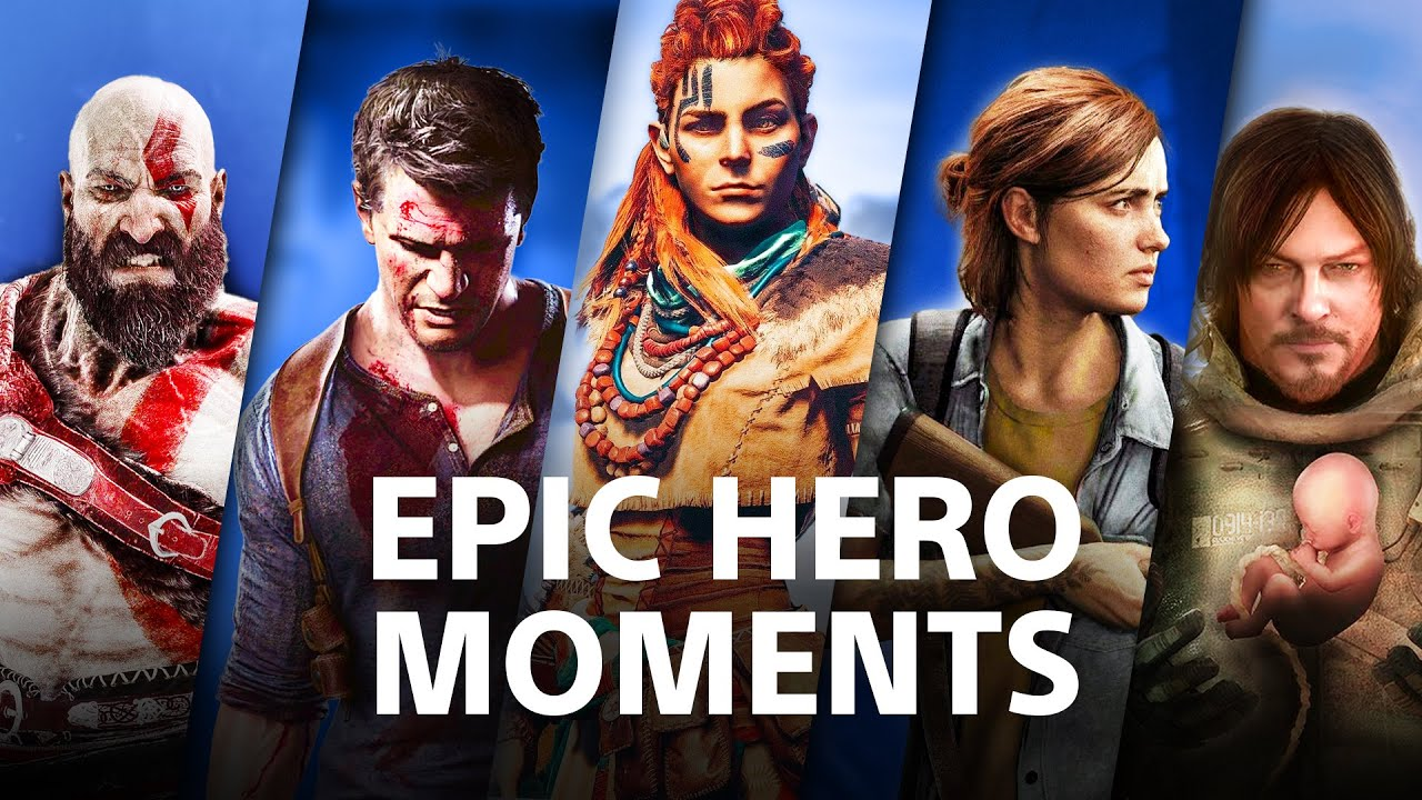 Epic Moments in Games | PlayStation Supercut