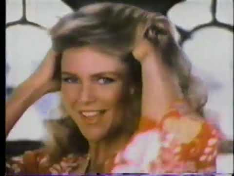 Christie Brinkley Commercial >> Christie Brinkley 1978 Clairol Condition Shampoo Commercial Youtube