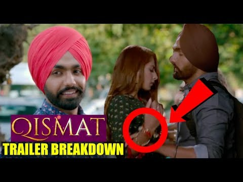 Qismat Official Trailer Breakdown - Review - Story | Ammy Virk | Sargun Mehta