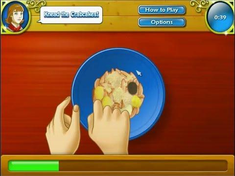 เกมส์ทำอาหาร ปูจ๋า(ครอกเก้ปู) - Crab Cakes Cooking Game 크랩 케이크,게 크로켓,クラブケーキ,カニコロッケ