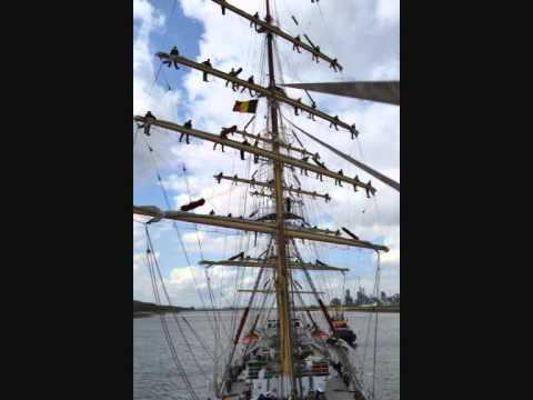Dar Mlodziezy - Time Laps mast climbing