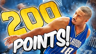 CAN JUSTICE YOUNG SCORE 200 POINTS?!? - THE 200 POINT CHALLENGE - NBA 2K17 MyCAREER
