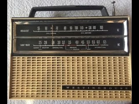 Westinghouse H-712P9 Am/SW Radio Repair