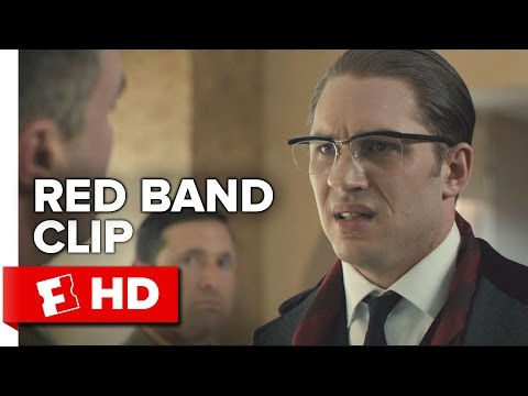 Legend Red Band Movie CLIP - Irritated (2015) - Tom Hardy, Emily Browning Movie HD