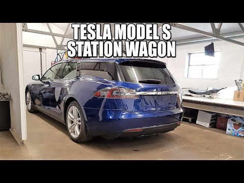 Nuevo Tesla Model S Station Wagon (Familiar, Ranchera, Estate, Shooting Brake...)