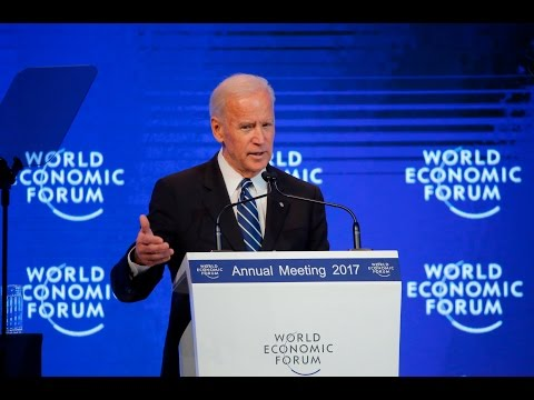 Joe Biden issues a 'call to action' to the US and Europe at Davos