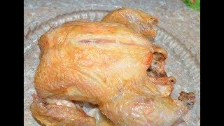 #Курица на соли#,золотая корочка.Очень вкусный и быстрый рецепт.