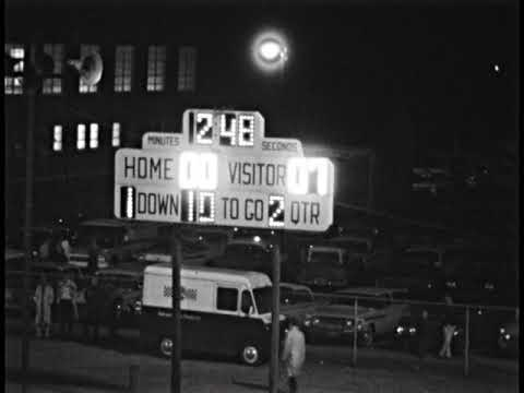 1962 Cary High School Football November 23 with Elizabethtown