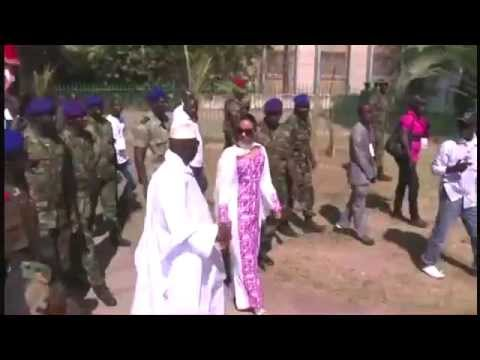 Who is Gambia President Yahya Jammeh