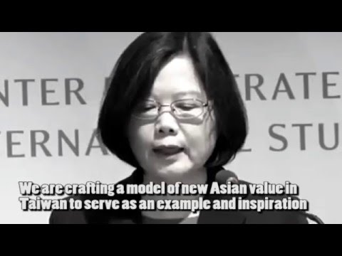 Taiwan: Example and Inspiration to Others. Tsai Ing-wen 蔡英文 (English speech)