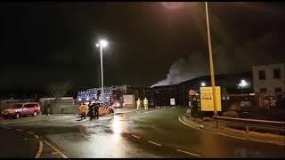Grip 1 gebouwbrand bij Renewi