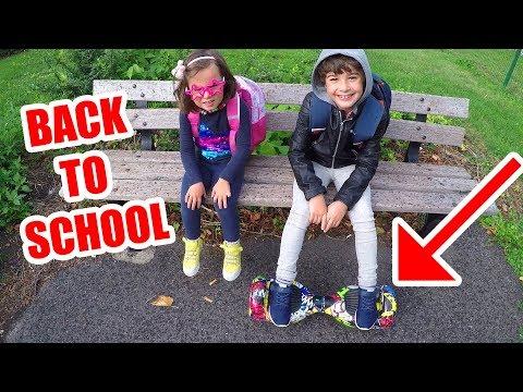 La RENTRÉE des CLASSES en HOVERBOARD - SPECIAL BACK to SCHOOL 2017 INSOLITE - Démo Jouets