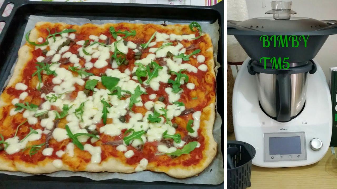 Ricetta impasto per pizza con bimby