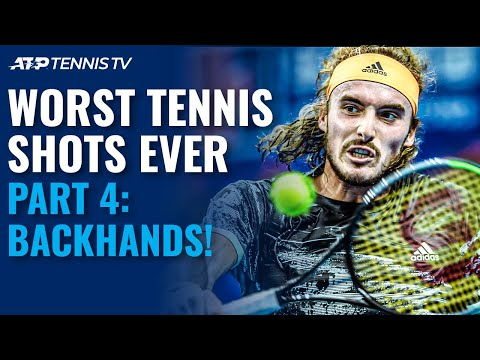 Worst Tennis Shots Ever Part 4: Backhands!