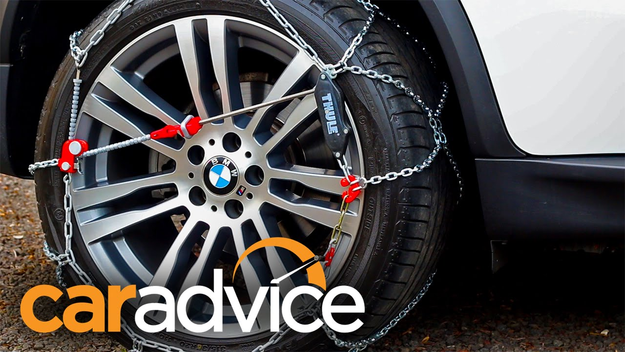 How To Fit Snow Chains With A Bmw X5 Youtube