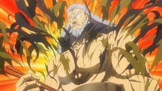 Senzaemon Nakiri bare-chested moments  Shokugeki no Souma s1&amp2
