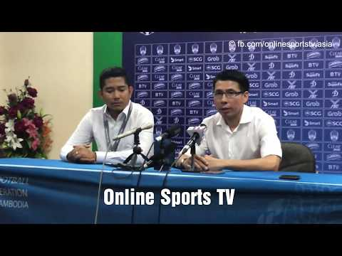 Malaysian Head Coach In Post Match Press Conference|September 10, 2018|Online Sports TV