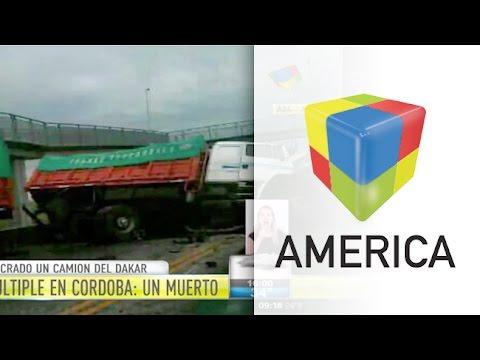 Un muerto en choque múltiple con un camión del Dakar