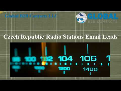 Czech Republic Radio Stations Email Leads