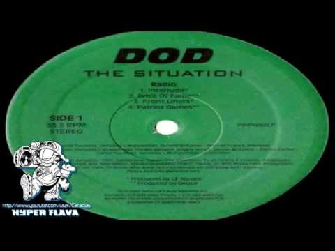 DOD ‎- The Situation EP (Full Vinyl) (1997)