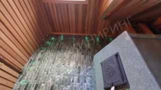 Построенная нами баня (Спаинжиниринг)(Это построенная нами баня. Вид изнутри., 2013-08-28T09:24:37.000Z)