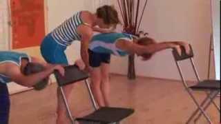 Stretching matinal, exercices anti-âge sénior