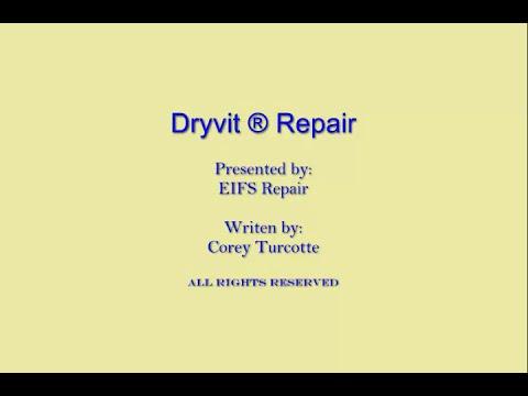 Dryvit Repair YouTube