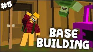 Unturned Gameplay - Part 5 - Crafting & Building A Base! (unturned 2 Base Building)