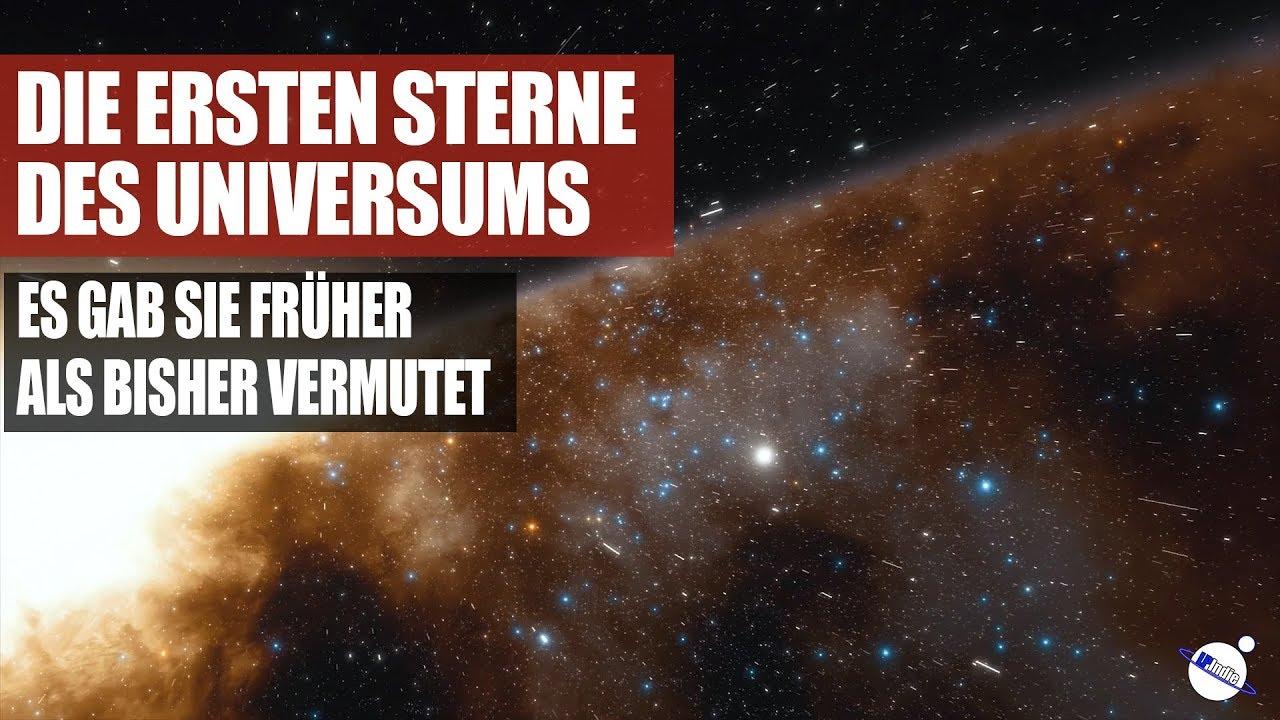 Die ersten Sterne des Universums - Es gab sie früher als vermutet