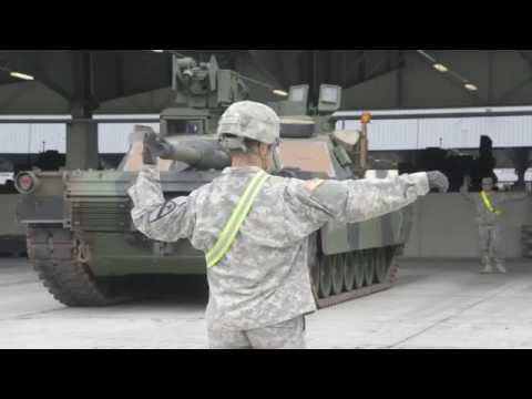 1st Cavalry Division at Grafenwoehr, Germany (HD)