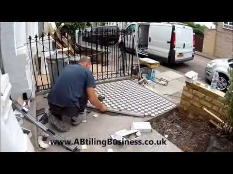 AB Tiling - victorian style outside tiles TIME LAPSE