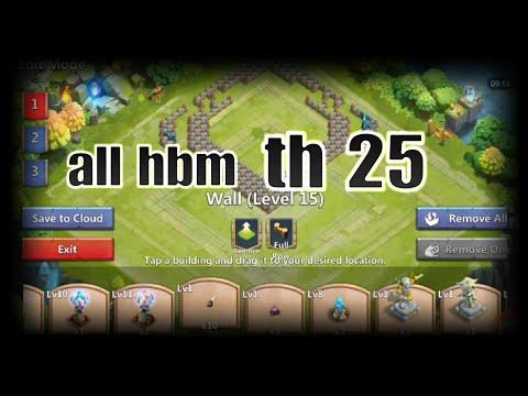 Castle Clash Th25 Base Tutorial