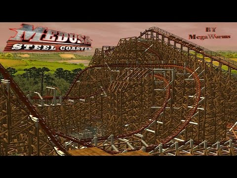 medusa-steel-coaster-six-flags-mexico-on-ride-rct3