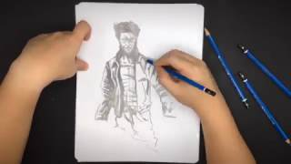 Wolverine | Sketch by Juno L.