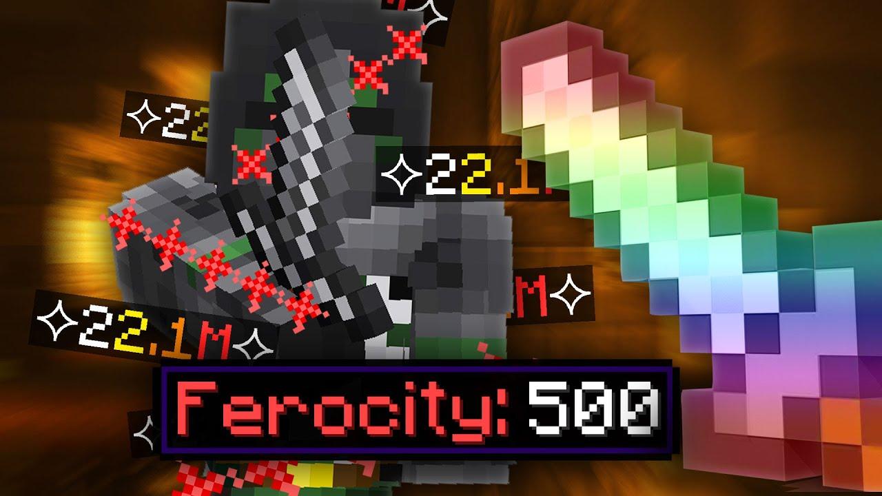 Max Ferocity is FUN (Hypixel SkyBlock)