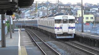 JR九州 415系12両 3323M 快速 南福岡行き 水巻駅 通過 2018年10月7日