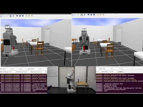 Integrating physics-based Prediction with Semantic Plan Execution Monitoring