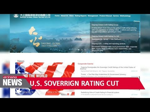 Chinese credit agency cuts U.S. ratings to BBB+, on par with Peru